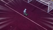 Shinsuke eventually saving the goal EP42 HQ