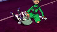 Rodan falling on Ibuki's leg Galaxy 38 HQ