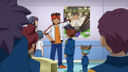 Endou talking about the Holy Road GO 8