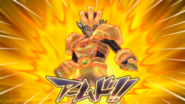 Kyoshin Gigantes Armed in the Chrono Stone game