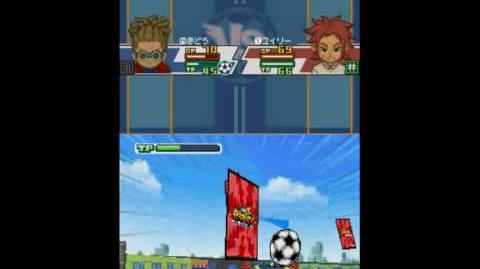 Inazuma Eleven 3 Spark Card Buster
