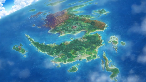 Akala Island Map