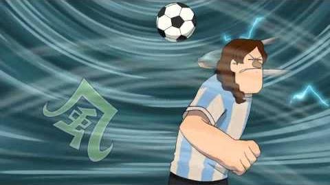 Inazuma Eleven (イナズマイレブン) - Fuujin no Mai 風神の舞