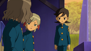 Shindou having a talk with Aoyama and Ichino