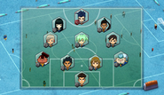 El Dorado Team 1's formation (CS 40 HQ)