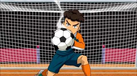 Inazuma Eleven GO Chrono Stone Episode 39 - Shoot Command 06 vs Shin God Hand X