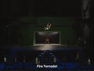 Live Action Fire Tornado