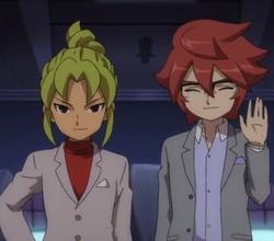 Hiroto and midorikawa