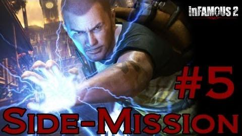 Infamous 2 Walkthrough - Side-Mission 5 New Maraos Tea Party-0