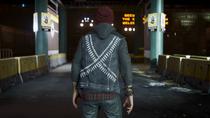 Delsin wearing Loaded vest