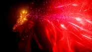 Evil Delsin absorbs Neon in Pioneer Tunnel