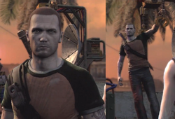 Cole at Outlaw rank (inFamous 2)