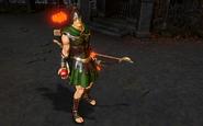 Achilles' End Green Arrow Gameplay Skin Infinite Crisis