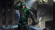 Arrow Green Arrow Splash Art Skin