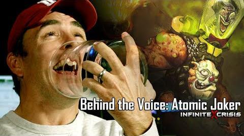 Behind the Voice Nolan North as Atomic Joker