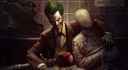 Joker Arkham Origins Skin Costume Art