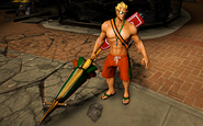 Lifeguard Aquaman Infinite Crisis Gameplay Skin