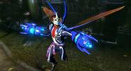 Día de Muertos Blue Beetle In-Game