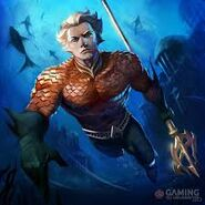 Aquaman art