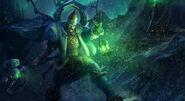 Northern Light Arcane Green Lantern art