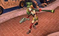 Bombshell Harley Quinn Infinite Crisis Gameplay Skin