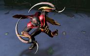 Crimson Dusk Nightmare Robin Gameplay Skin Infinite Crisis