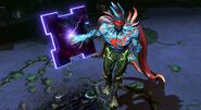 Nightmare Superman Harbinger of Madness Skin Gameplay