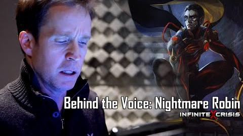 Behind the Voice James Arnold Taylor as Nightmare Robin