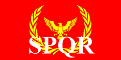 Flag Roman Empire