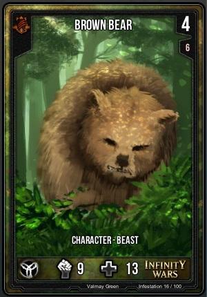 INFESTATION- Brown Bear