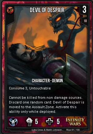 RISE- Devil Of Despair