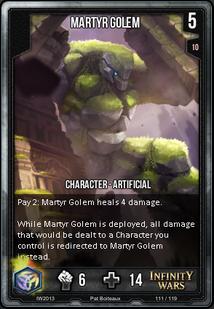 Martyr Golem