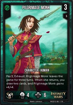 CORE- Pilgramage Monk