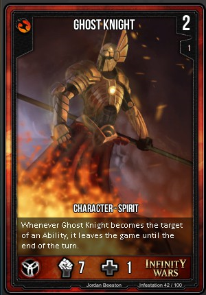 INFESTATION- Ghost Knight