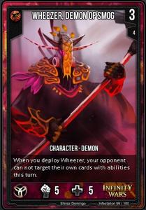 Wheezer, Demon of Smog
