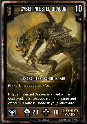 INFESTATION- Cyber Infested Dragon