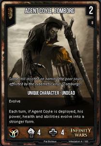Agent Coyle, Zomborg