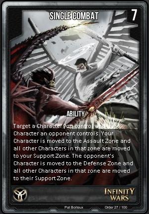 ORDER- Single Combat
