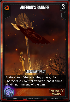 RISE- Aberion's Banner