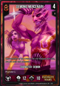 Demonic Mercenary