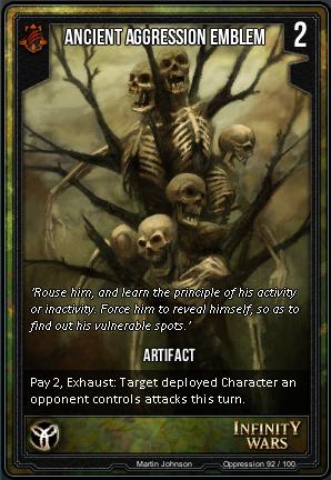 OPPRESSION- Ancient Aggression Emblem