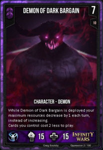 Demon Of Dark Bargain
