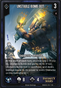 Unstable Bomb-Bot