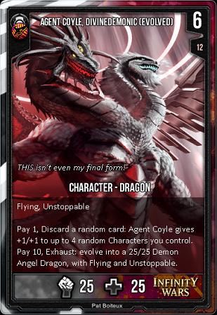 ORDER- Agent Coyle, Divinedemonic Transformed
