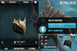 Helio Crown