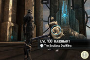 Soulless Raidriar final fight at the worker lair