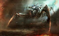 Fantasy Robot crab 041773