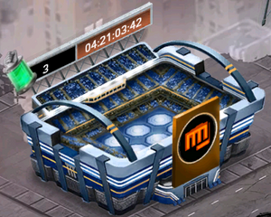 Arena on the map