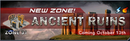 Ancient ruins banner