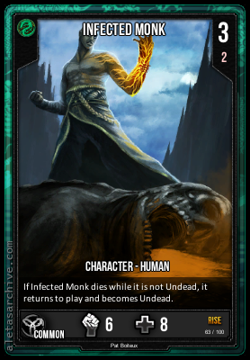 RISE INFECTED MONK